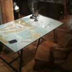 FanshaweBlaine Map Desk at High Point Furniture Market
