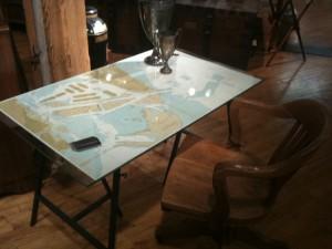 FanshaweBlaine Map Desk at High Point Furniture Market