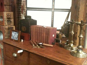 Books, Enamel Ware and Tin and Furniture from Fanshawe Blaine